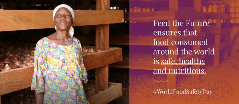 World Food Safety Day social media card