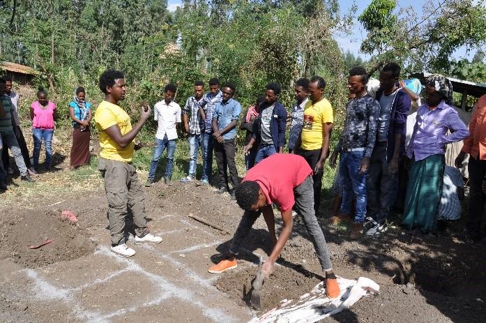 Perma-garden training